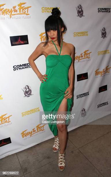 Actress Bai Ling attends the premiere of Comedy Dynamics' The Fury of the Fist and the Golden Fleece at Laemmle's Music Hall 3 on May 24 2018 in...