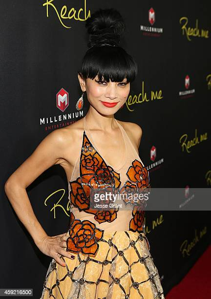 Actress Bai Ling attends the premiere of Millennium Entertainment's 'Reach Me' at the Chinese 6 Theaters Hollywood on November 18 2014 in Hollywood...