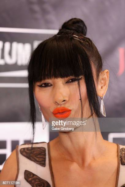 """Actress Bai Ling attends the premiere of """"Sharknado 5: Global Swarming"""" at The Linq Hotel & Casino on August 6, 2017 in Las Vegas, Nevada."""