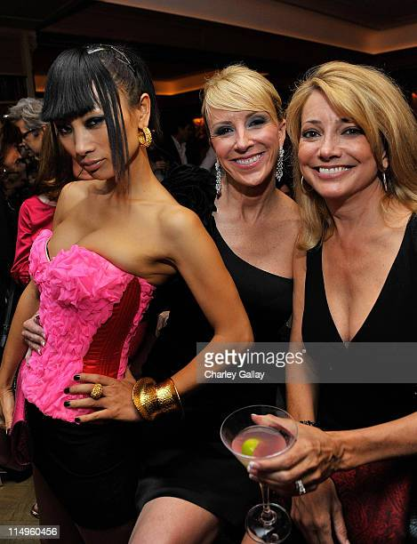 Actress Bai Ling Los Angeles Confidential Publisher Allison Miller and actress Julia Parker attend Los Angeles Confidential Magazine's May/June Issue...