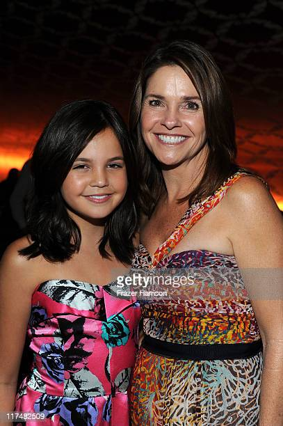 Actress Bailee Madison and mother Patricia Riley at the LAFF Closing Night ater party for the Dont Be Afraid Of The Dark Premiere at Club Nokia on...