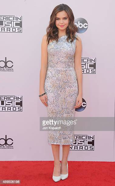 Actress Bailee Madison arrives at the 2014 American Music Awards at Nokia Theatre LA Live on November 23 2014 in Los Angeles California