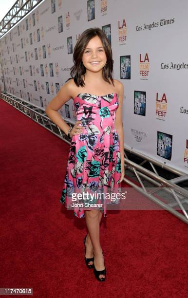 Actress Bailee Madison arrives at the Don't Be Afraid of The Dark Closing Night Gala screening during the 2011 Los Angeles Film Festival held at the...