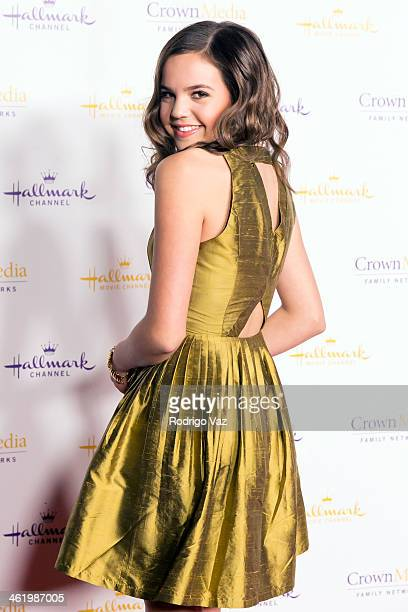 Actress Bailee Madison arrives at the Hallmark Channel Hallmark Movie Channel 2014 Winter TCA Party at The Huntington Library and Gardens on January...