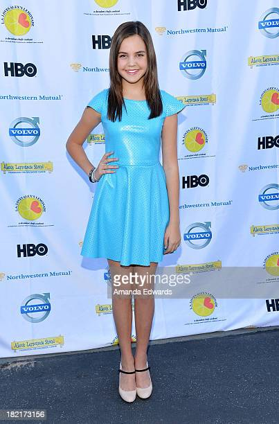 Actress Bailee Madison arrives at the LA Loves Alex's Lemonade Culinary Event Benefiting Alex's Lemonade Stand Foundation at Culver Studios on...