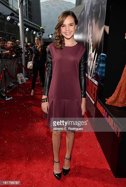 Actress Bailee Madison arrives at the premiere of Relativity Media's Romeo Juliet at ArcLight Hollywood on September 24 2013 in Hollywood California