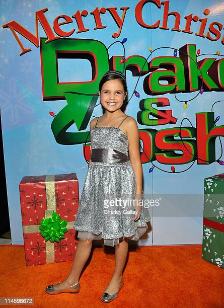 Actress Bailee Madison arrives at the world premiere of Merry Christmas Drake Josh at the Westside Pavillion on December 2 2008 in Westwood California