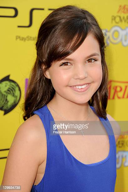 Actress Bailee Madison arrives at Variety's 5th annual Power Of Youth event presented by The Hub at Paramount Studios on October 22 2011 in Hollywood...