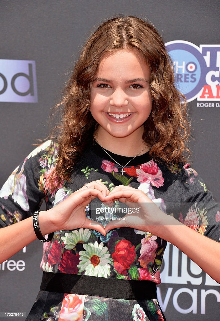 Actress Bailee Madison attends CW Network's 2013 Young Hollywood Awards presented by Crest 3D White and SodaStream held at The Broad Stage on August 1, 2013 in Santa Monica, California.