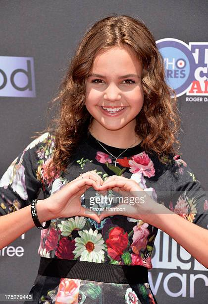 Actress Bailee Madison attends CW Network's 2013 Young Hollywood Awards presented by Crest 3D White and SodaStream held at The Broad Stage on August...