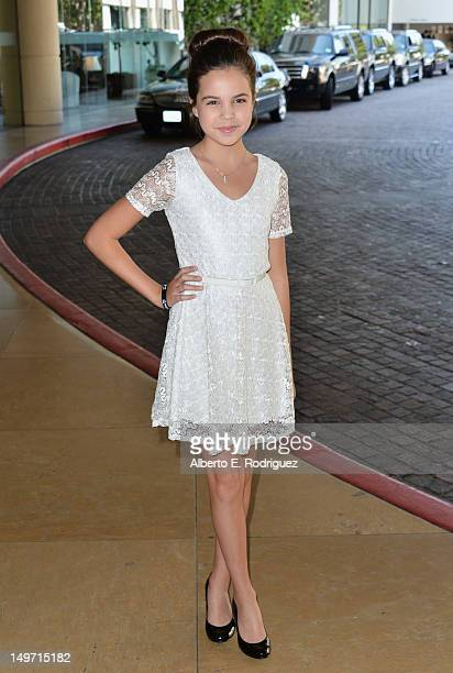 Actress Bailee Madison attends Hallmark Channel and Hallmark Movie Channel's 2012 'TCA Summer Press Tour' on August 2 2012 in Beverly Hills California