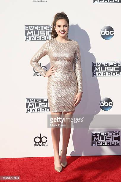 Actress Bailee Madison attends the 2015 American Music Awards at Microsoft Theater on November 22 2015 in Los Angeles California