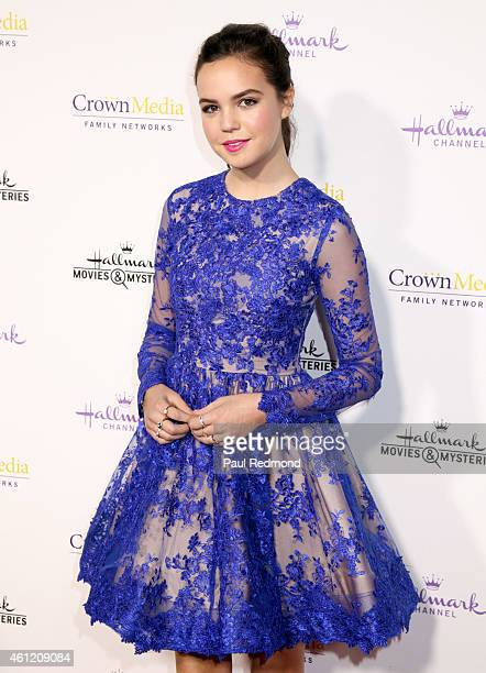 Actress Bailee Madison attends the 2015 Television Critics Association Press Tour Hallmark Channel and Hallmark Movies Mysteries at Tournament House...