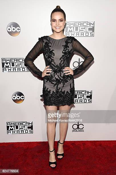 Actress Bailee Madison attends the 2016 American Music Awards Red Carpet Arrivals sponsored by FIAT 124 Spider at Microsoft Theater on November 20...
