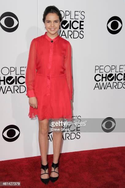 Actress Bailee Madison attends The 40th Annual People's Choice Awards at Nokia Theatre LA Live on January 8 2014 in Los Angeles California