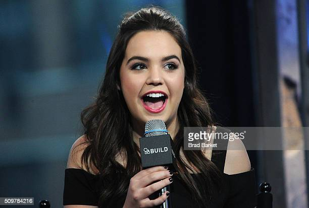 Actress Bailee Madison attends the AOL Build Speaker Series Bailee Madison Good Witch Once Upon A Time at AOL Studios In New York on February 12 2016...