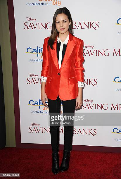 Actress Bailee Madison attends the premiere of Saving Mr Banks at Walt Disney Studios on December 9 2013 in Burbank California