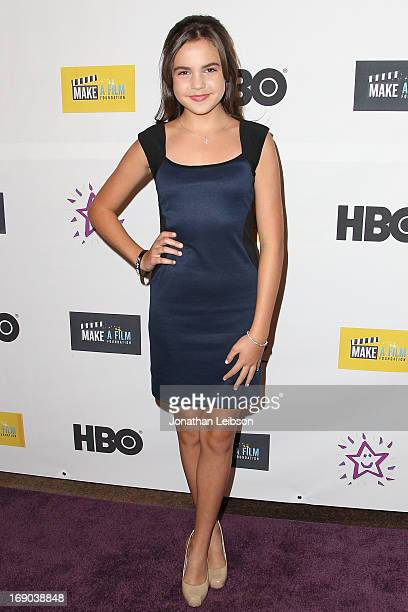 Actress Bailee Madison attends the 'The Magic Bracelet' Los Angeles Premiere at Writers Guild Theater on May 18 2013 in Beverly Hills California