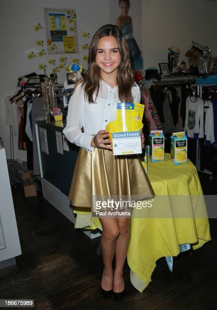 Actress Bailee Madison hosts Alex's Lemonade Stand on November 2 2013 in Studio City California