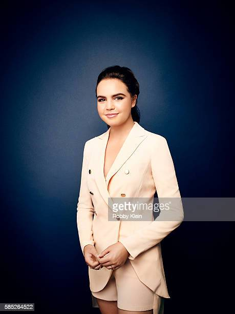 Actress Bailee Madison is photographed at the Hallmark Channel Summer 2016 TCA on July 27 2016 in Los Angeles California
