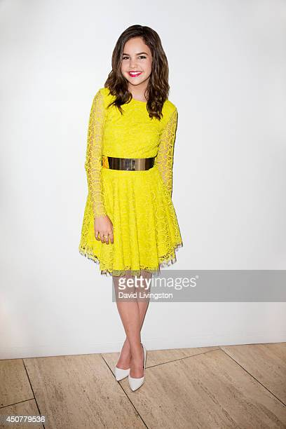 Actress Bailee Madison is photographed at the 'The Color Of Rain' Premiere on May 28 2014 in Beverly Hills California