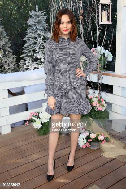 Actress Bailee Madison visits Hallmark's 'Home Family' at Universal Studios Hollywood on February 7 2018 in Universal City California