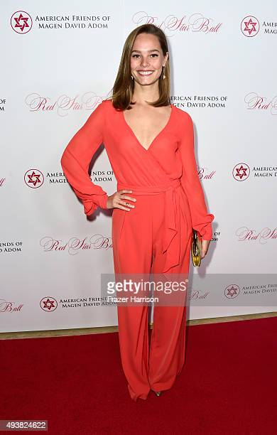 Actress Bailey Noble arrives at American Friends Of Magen David Adom Host Third Annual Red Star Ball at The Beverly Hilton Hotel on October 22 2015...