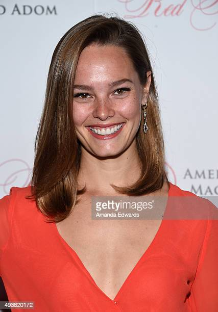 Actress Bailey Noble arrives at the American Friends of Magen David Adom's Third Annual Red Star Ball at The Beverly Hilton Hotel on October 22 2015...
