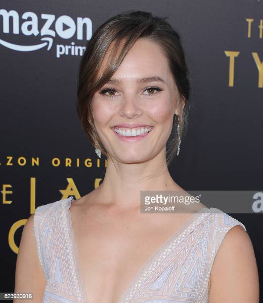 Actress Bailey Noble arrives at the Premiere Of Amazon Studios' The Last Tycoon at the Harmony Gold Preview House and Theater on July 27 2017 in...