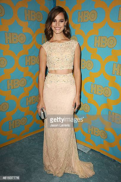 Actress Bailey Noble attends HBO's post Golden Globe Awards party at The Beverly Hilton Hotel on January 11 2015 in Beverly Hills California