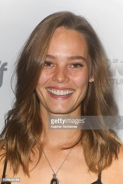 Actress Bailey Noble attends Summer Of 8 Los Angeles premiere at Downtown Independent Theater on September 2 2016 in Los Angeles California
