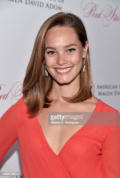Actress Bailey Noble attends the American Friends Of Magen David Adom's Red Star Ball at The Beverly Hilton Hotel on October 22 2015 in Beverly Hills...