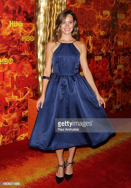 Actress Bailey Noble attends the HBO's Official 2015 Emmy After Party at The Plaza at the Pacific Design Center on September 20 2015 in Los Angeles...