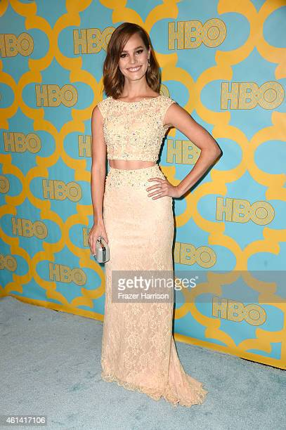 Actress Baily Noble attends HBO's Post 2015 Golden Globe Awards Party at Circa 55 Restaurant on January 11 2015 in Los Angeles California