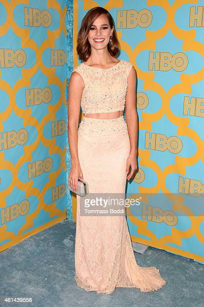Actress Baily Noble attends the HBO'S Post Golden Globe Party held at The Beverly Hilton Hotel on January 11 2015 in Beverly Hills California
