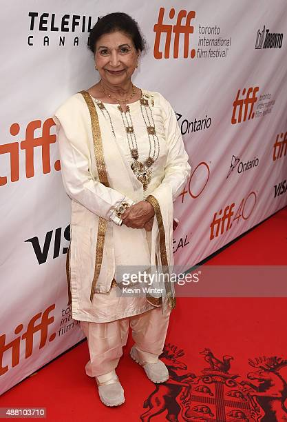 Actress Balinder Johal attends the Beeba Boys premiere during the 2015 Toronto International Film Festival at Roy Thomson Hall on September 13 2015...