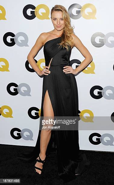 Actress Bar Paly arrives at GQ Celebrates The 2013 'Men Of The Year' at The Wilshire Ebell Theatre on November 12 2013 in Los Angeles California
