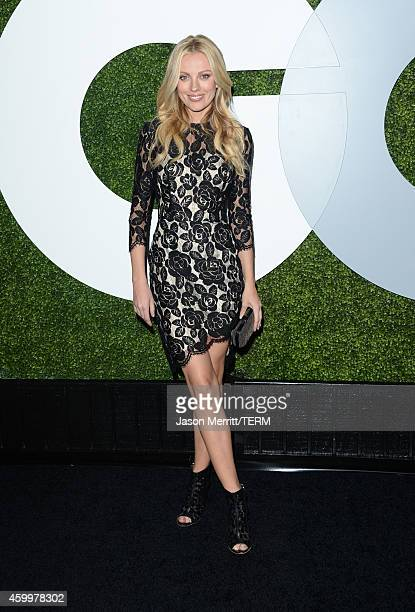 Actress Bar Paly attends the 2014 GQ Men Of The Year party at Chateau Marmont on December 4 2014 in Los Angeles California