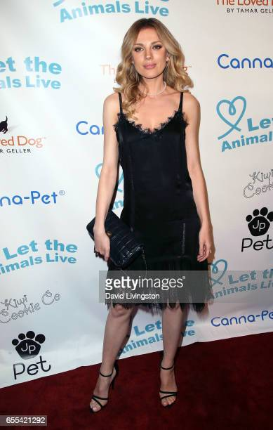 Actress Bar Paly attends the Let The Animals Live Gala at the Olympic Collection Banquet Conference Center on March 19 2017 in Los Angeles California