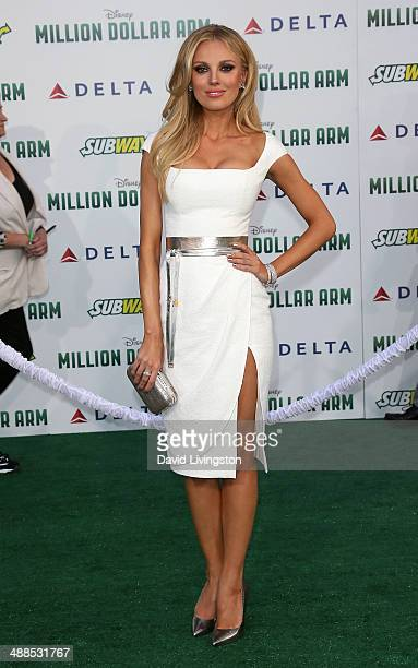 Actress Bar Paly attends the premiere of Disney's 'Million Dollar Arm' at the El Capitan Theatre on May 6 2014 in Hollywood California
