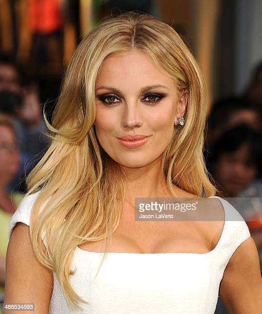 Actress Bar Paly attends the premiere of 'Million Dollar Arm' at the El Capitan Theatre on May 6 2014 in Hollywood California