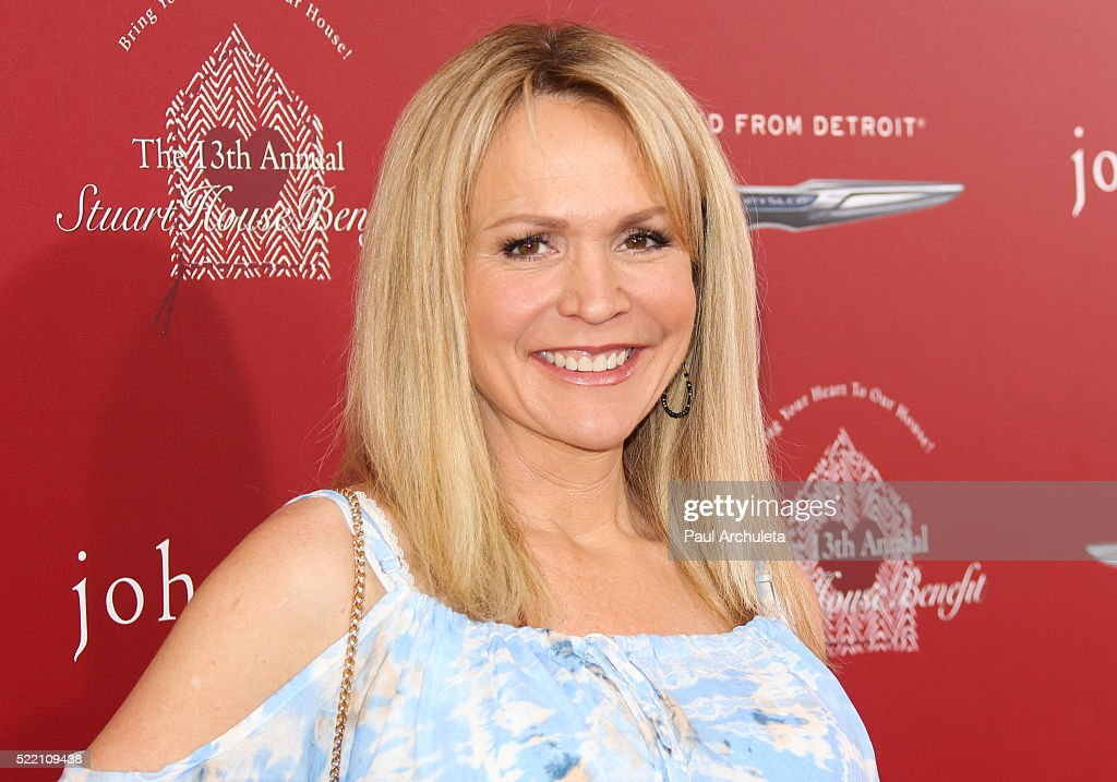 Actress Barbara Alyn Woods attends the 13th Annual Stuart House Benefit presented by John Varvatos at John Varvatos on April 17, 2016 in Los Angeles, California.