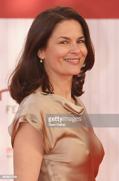Actress Barbara Auer attends the German Film Award 2008 at the Palais am Funkturm on April 25 2008 in Berlin Germany