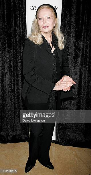 Actress Barbara Bain arrives for the 33rd Annual Vision Awards at the Beverly Hilton on June 24 2006 in Beverly Hills California