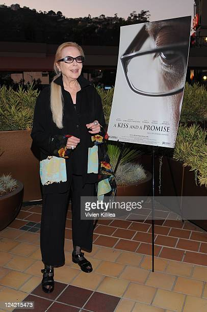 COVERAGE *** Actress Barbara Bain attends 'A Kiss And A Promise' Los Angeles Screening at Laemmle Sunset 5 Theatre on September 8 2011 in West...