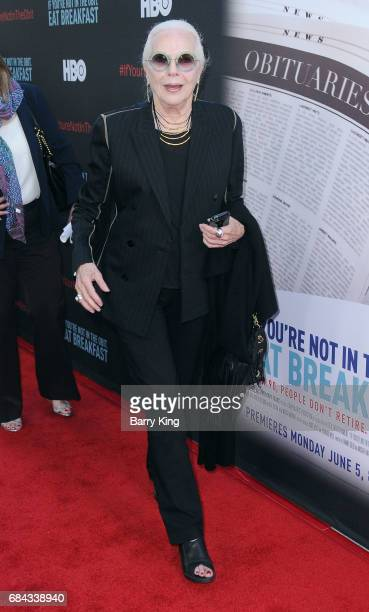 Actress Barbara Bain attends premiere of HBO's 'If You're Not In The Obit Eat Breakfast' at Samuel Goldwyn Theater on May 17 2017 in Beverly Hills...