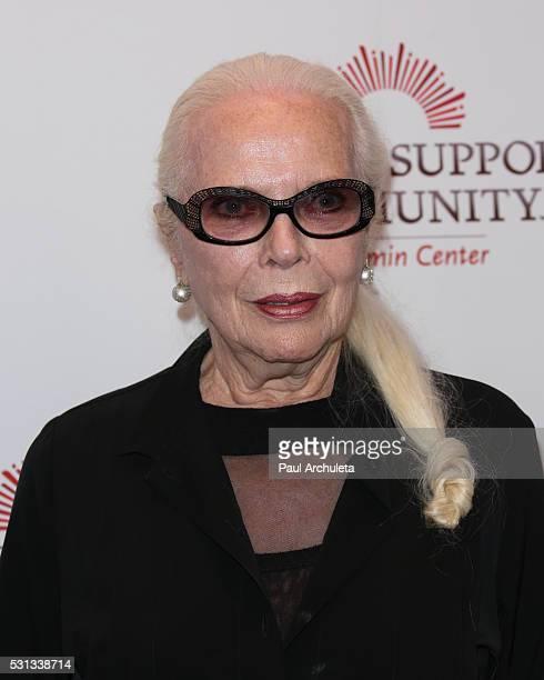 Actress Barbara Bain attends the 2016 Gilda Award Gala at InterContinental Los Angeles Century City on May 13 2016 in Los Angeles California