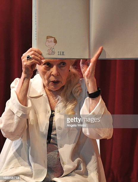 Actress Barbara Bain reads at the Screen Actors Guild Foundation 20 Years Of BookPALS celebration at West Hollywood City Council Chamber on May 11...