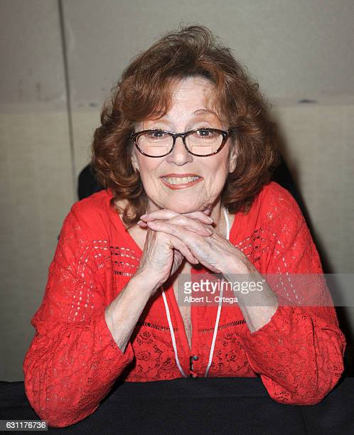 Actress Barbara Baldavin attends The Hollywood Show held at The Westin Los Angeles Airport on January 7 2017 in Los Angeles California