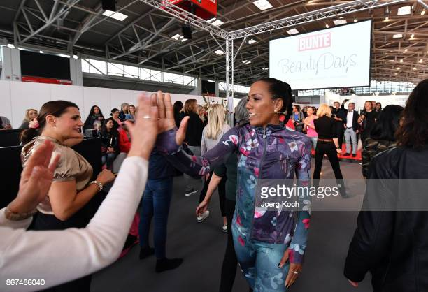 Actress Barbara Becker attend the Bunte Beauty Days at Messe Muenchen on October 28 2017 in Munich Germany